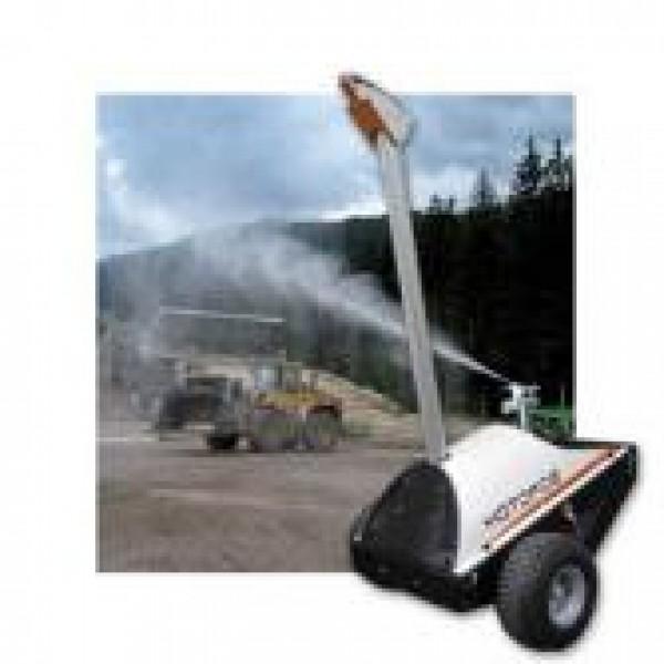 Передвижная машина для контроля уровня пыли на объекте