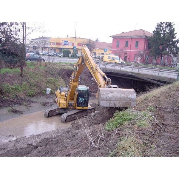 Ковш для подготовки и очистки каналов