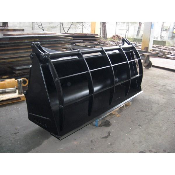 Ковш с решетчатым закрытием